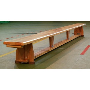 Ławka gimnastyczna drewniana ŁGD01