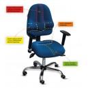 Krzesło ergonomiczne Kulik CLASSIC PRO