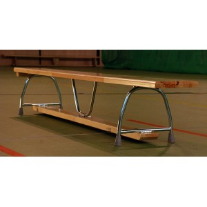 Ławka gimnastyczna - nogi metalowe ŁGD02